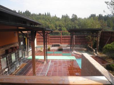 平山温泉「華の番台」で日帰り温泉とランチ