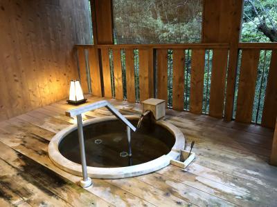 隠れ家的存在 山の中の温泉でまったり