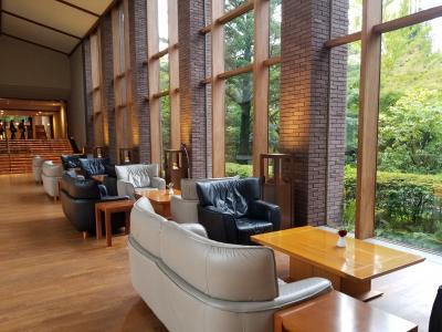 東急ハーヴェスト旧軽井沢に連泊、洋食コースと和食コース料理を堪能する