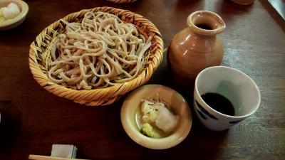 松本で美味しい蕎麦屋さん発見! お城の側の「三城(さんじろ)」さん