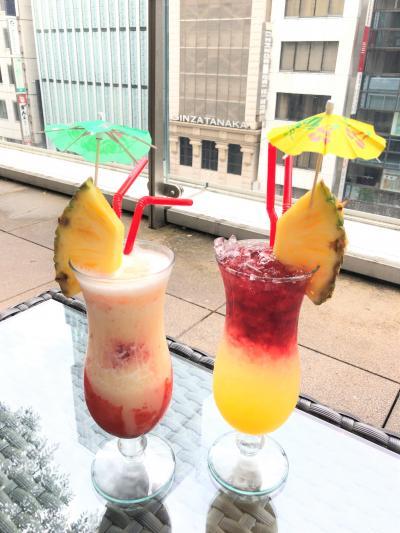 『ホテルインターゲート東京京橋』朝食はラウンジで朝シャンを♪ハワイとリモート【エッグスン】『ペニンシュラ東京』ピーター【TWG】ティーセット