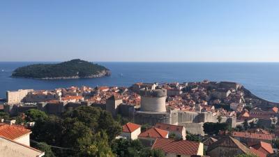 大学3年生がきままに東ヨーロッパを巡る旅 ークロアチア・ドブロブニクー