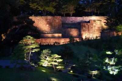 20200908-3 金沢 金沢城公園のライトアップ