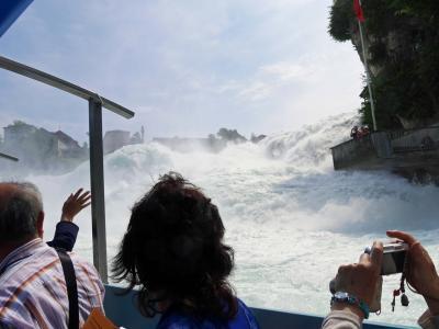 爺のアルザス・ドイツ黒い森地方8日間旅行記④ミュルーズ、ラインの滝、マウナウ島、ライフェナウ島の観光