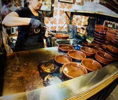 美食の街:バスク地方を巡るBARで「ほろ酔いグルメツアー」(...を、終了後に首都に移動する/マドリード/31年ぶりのスペイン)