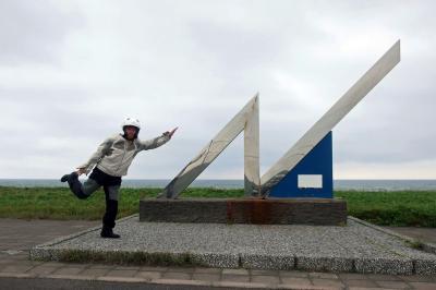 【BikeJINラリー2020】5-2、黄金岬からオロロンラインを北上、稚内へ