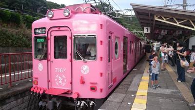 加太のお魚電車と和歌山城