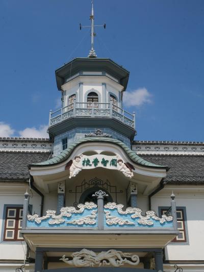 初めての国内一人旅で松本へ!その2 サイクリングで松本市内観光!国宝の旧開智学校は天使がかわいい