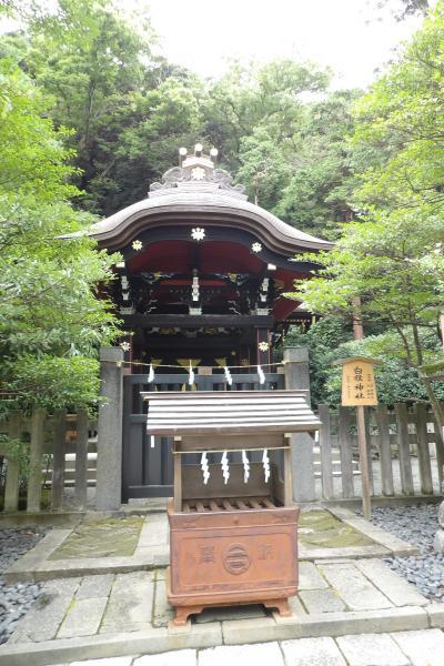 白旗神社(鶴岡八幡宮境内)-2020年初秋