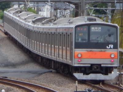 M SEP 2020  武蔵野線205系惜別乗車