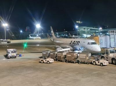 JAL回数修行(44~45)福岡出張編4