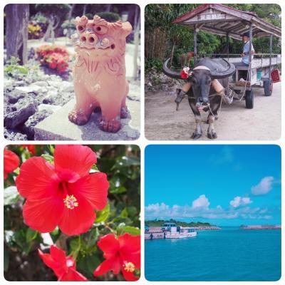 八重山諸島の旅2~竹富島のんびりゆったり島時間