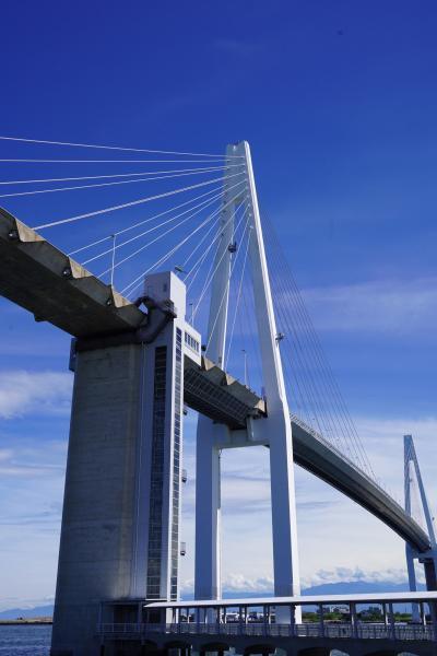 20200912-2 新湊 新湊大橋の、あいの風プロムナード。渡りませんが、見物だけ。