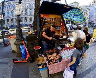 美食の街:バスク地方を巡るBARで「ほろ酔いグルメツアー」(マドリ市内を散歩/マドリード/31年ぶりのスペイン)