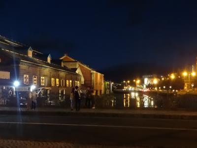 フェリーで小樽へ  朝から観光 2