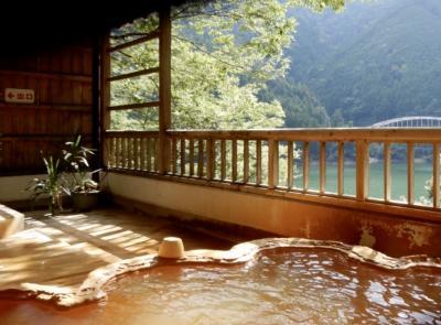マイクロツーリズム奈良 行くには少々なんぎやなぁーの秘湯「入之波温泉」へ