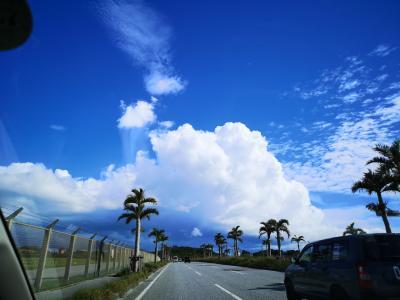 秋の気配がした沖縄