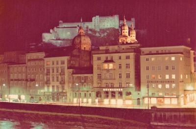 1974年初のヨーロッパ3(オーストリアーザルツブルク、インスブルック等ー)