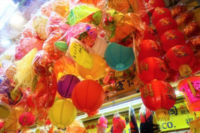 香港★ランタンを買いに玩具街へ
