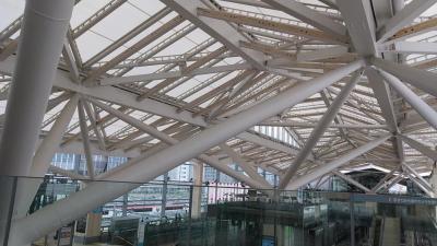 高輪ゲートウエイ駅に行ってみました。
