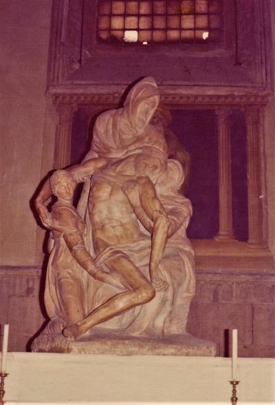 1975年初のヨーロッパ4(フィレンツェとローマとミケランジェロと赤ワイン)
