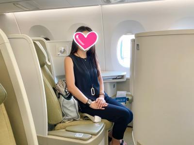ベトナム航空ビジネスクラスで行くフーコック島大人女子旅7日間☆ベトナム航空とホーチミン編①