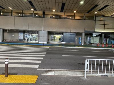 成田空港を往復
