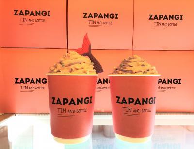 ソウル⑬望遠洞「望理団通り」ピンクの自販機カフェ【ZAPANGI】【Coffee Hospital】「望遠市場」高級リムジンバスで仁川空港へ