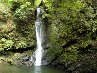 奥多摩・鳩ノ巣から城山を経て海沢三滝を巡る