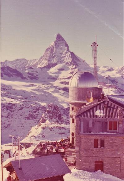 1975年初のヨーロッパ5(真冬のスイス―マッターホルン、ツェルマット、ルツェルン等)