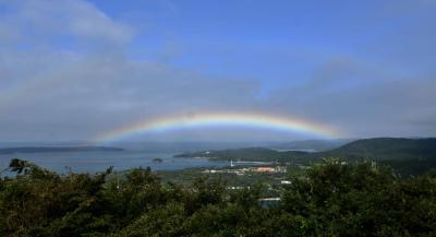 牡鹿半島沖の島めぐり 猫の楽園島と金華山に登る旅 3日目