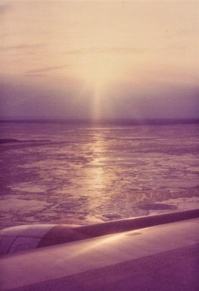 1974年初のヨーロッパ(往復フライトとストでコペンハーゲン乗り換え)