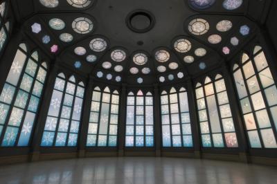 2020雪の美術館、美瑛の丘、動物園、上野ファーム等散策