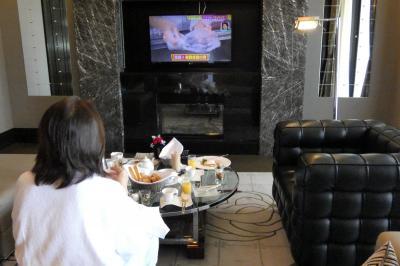 05.夏のエクシブ山中湖サンクチュアリヴィラ1泊 インルームダイニングの朝食