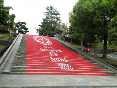 雨の奈良を16536歩休まず歩く。