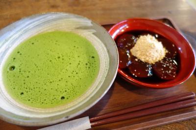 20200917-3 高山 喫茶去かつて、抹茶とわらび餅