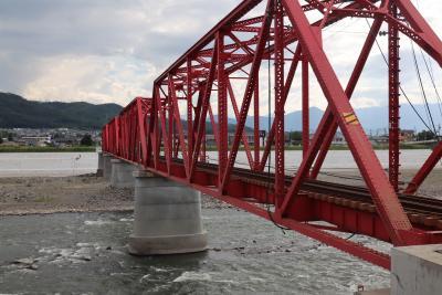 野次馬お断り、水害からの復興工事が進む上田電鉄を訪ねる。