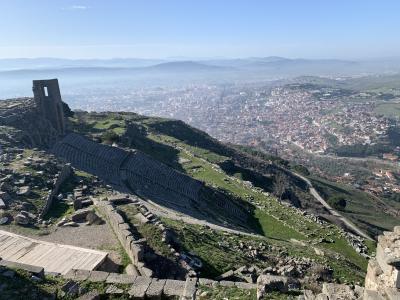 2020年2月 大学生が行く トルコ10日間周遊 7日目 ベルガマ