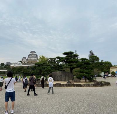 コロナ禍の中の姫路城