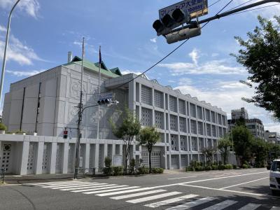 2020秋の大使館巡り(2)池尻大橋駅から目黒駅