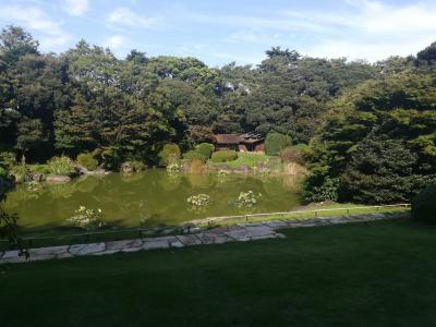東京国立博物館庭園