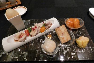 夏のエクシブ山中湖1泊 ラウンジドルチェの喫茶 中国料理 翠陽の昼食