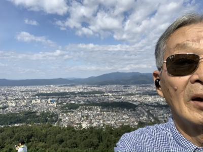 齢77.70年振りの大文字山から岡崎まで!