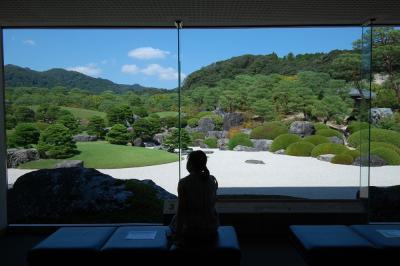 日本一の美しい庭園と言われる足立美術館と松江城観光 【山陰・四国遠征3泊5日】