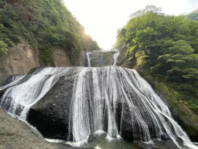 子連れで茨城県北~竜神大吊橋と袋田の滝(7歳&4歳)