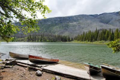春のカナディアン・ロッキー再訪【4】エンジェル氷河と小さな湖巡り(2007/6/19)