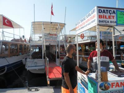 今年はマスクして手を洗ってトルコの旅(ダッチャ:ボートツアー)