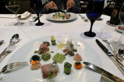 11.GoTo会員制リゾート7連泊 エクシブ浜名湖 イタリア料理 ルッチコーレの夕食