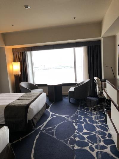 インターコンチネンタルヨコハマグランドホテルに泊まる