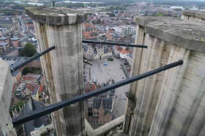 絶景!「聖ロンバウツの塔」に登るためにメッヘレンへ!